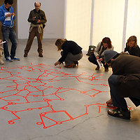 Red Fungus, collaborative installation, LABoral, Gijon by Luna Maurer