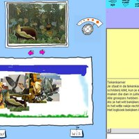 Painting online by cut, copy, paste in famous paintings and havng a digiatl journal for collecting all this