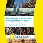 Lecture Cor Leguijt about sustainable energy for Texel 8 december 2014